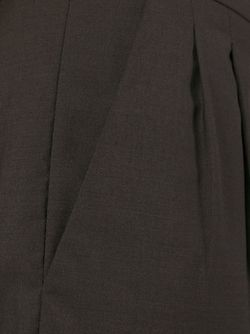 Брюки Со Складкой Спереди Marni                                                                                                              коричневый цвет