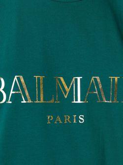 Топ Без Рукавов Balmain                                                                                                              зелёный цвет