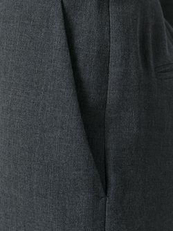 Укороченные Расклешенные Брюки Stella Mccartney                                                                                                              серый цвет