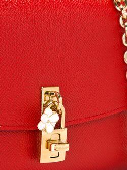Сумка Через Плечо Dolce Dolce & Gabbana                                                                                                              красный цвет