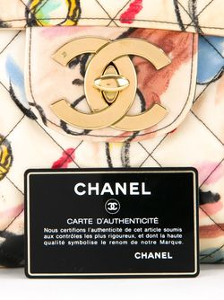 Сумка На Плечо С Откидным Клапаном Chanel Vintage                                                                                                              многоцветный цвет