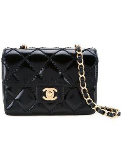 Сумка На Плечо 2.55 Chanel Vintage                                                                                                              черный цвет
