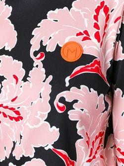 Джемпер С Цветочным Узором MSGM                                                                                                              розовый цвет