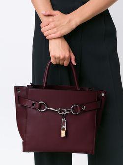 Сумка-Сэтчел Attica С Цепочной Отделкой Alexander Wang                                                                                                              коричневый цвет