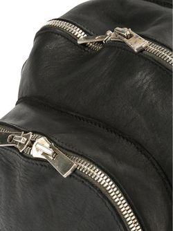 Рюкзак С Несколькими Карманами GUIDI                                                                                                              чёрный цвет