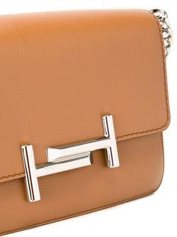 Сумка На Плечо С Логотипом Tod'S                                                                                                              коричневый цвет