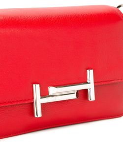 Сумка На Плечо С Логотипом Tod'S                                                                                                              красный цвет