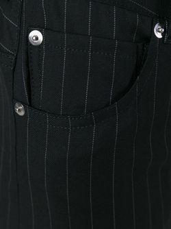 Широкие Брюки MM6 by Maison Margiela                                                                                                              чёрный цвет