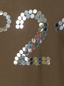 Футболка С Принтом Логотипа No21                                                                                                              зелёный цвет