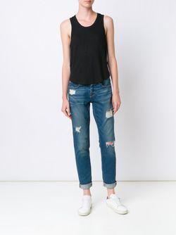 Классический Топ Без Рукавов Joe'S Jeans                                                                                                              черный цвет