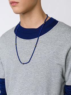 Ожерелье Из Бусин ROMAN PAUL                                                                                                              синий цвет