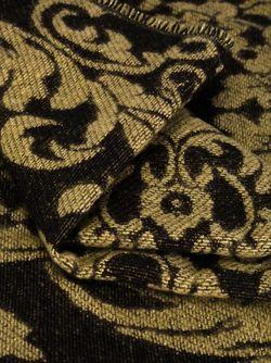 Шарф С Цветочным Принтом Twin-set                                                                                                              черный цвет