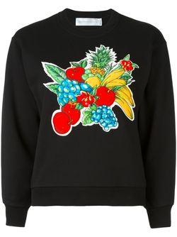 Толстовка Fruit Basket Victoria, Victoria Beckham                                                                                                              чёрный цвет