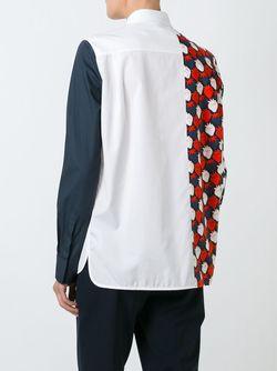 Рубашка Strawberry Patch Victoria, Victoria Beckham                                                                                                              белый цвет