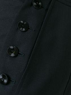 Брюки С Завышенной Талией Chanel Vintage                                                                                                              чёрный цвет