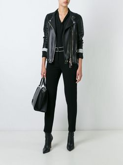 Straight Trousers Fausto Puglisi                                                                                                              черный цвет