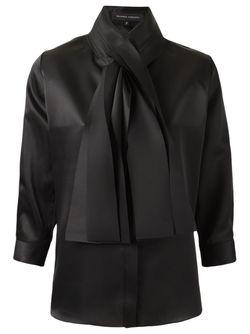 Bow Detail Shirt GLORIA COELHO                                                                                                              чёрный цвет
