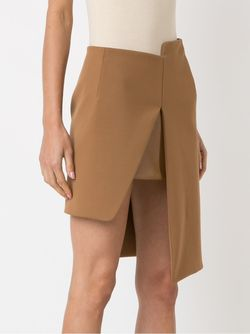Asymmetric Skirt GLORIA COELHO                                                                                                              коричневый цвет