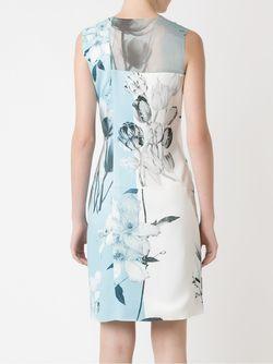 Printed Dress GLORIA COELHO                                                                                                              синий цвет