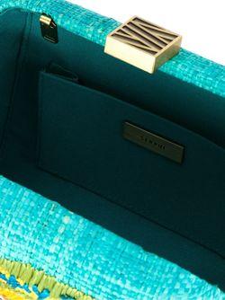 Embroidered Clutch SERPUI                                                                                                              зелёный цвет