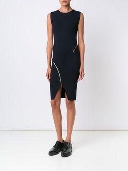 Облегающее Платье С Декоративными Молниями Stella Mccartney                                                                                                              черный цвет