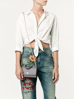 Мини Сумка Через Плечо Von Dolce & Gabbana                                                                                                              серый цвет