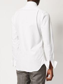 Классическая Рубашка Thom Browne                                                                                                              белый цвет