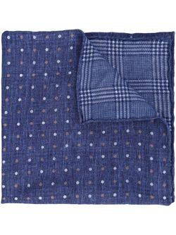 Карманный Платок В Горошек Brunello Cucinelli                                                                                                              синий цвет