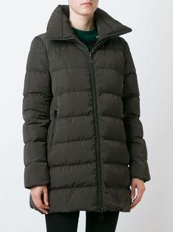 Пуховик Petrea Moncler                                                                                                              коричневый цвет