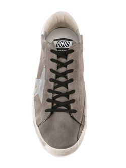 Кеды Super Star Golden Goose                                                                                                              серый цвет