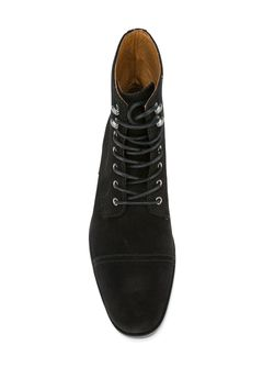 Ботинки На Шнуровке Polo Ralph Lauren                                                                                                              черный цвет