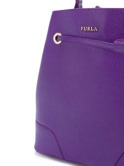 Сумка-Мешок Stacy Furla                                                                                                              розовый цвет