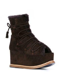 Ботинки Esgu Paloma Barceló                                                                                                              коричневый цвет