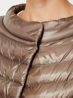 Wide Collar Puffer Jacket Herno                                                                                                              Nude & Neutrals цвет
