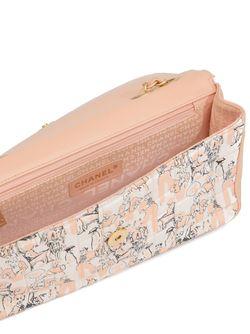 Сумка На Плечо С Элементом Шарфа Chanel Vintage                                                                                                              розовый цвет