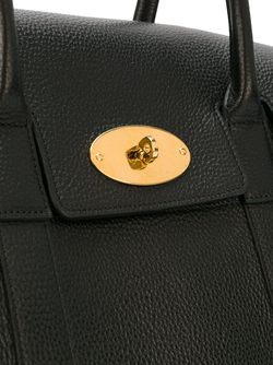 Средняя Сумка-Тоут С Золотистой Фурнитурой Mulberry                                                                                                              чёрный цвет