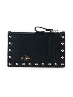 Визитница Rockstud Valentino                                                                                                              чёрный цвет