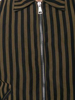 Куртка-Бомбер В Полоску SECOND/LAYER                                                                                                              черный цвет