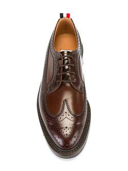 Классические Броги Thom Browne                                                                                                              коричневый цвет