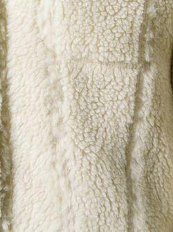 Меховая Куртка MM6 by Maison Margiela                                                                                                              Nude & Neutrals цвет