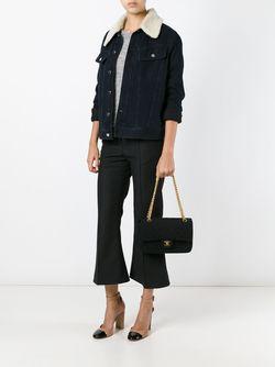 Стеганая Сумка На Плечо Chanel Vintage                                                                                                              черный цвет