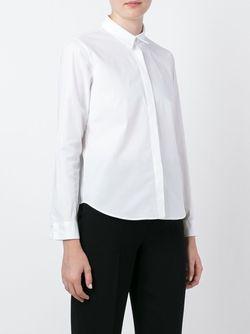 Рубашка Свободного Кроя Jil Sander Navy                                                                                                              белый цвет