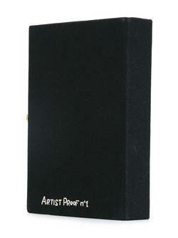 Клатч В Виде Книжной Обложки Olympia Le-Tan                                                                                                              черный цвет