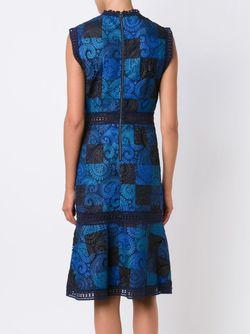 Платье С Кружевным Узором Sea                                                                                                              синий цвет