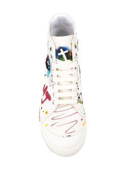 Хайтопы Taylor Pavé Marc Jacobs                                                                                                              белый цвет