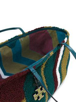 Сумка-Тоут Из Овчины Tory Burch                                                                                                              многоцветный цвет