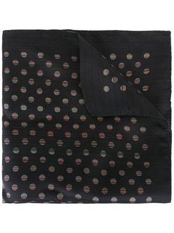 Нагрудный Платок С Узором В Горох Paul Smith                                                                                                              чёрный цвет