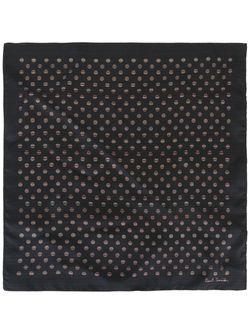 Нагрудный Платок С Узором В Горох Paul Smith                                                                                                              черный цвет