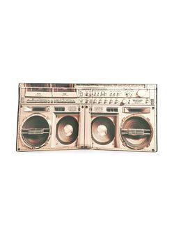 Складной Бумажник С Принтом Магнитофона Paul Smith                                                                                                              черный цвет