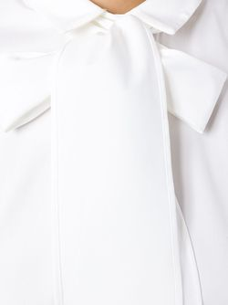 Рубашка С Завязками На Бант Brunello Cucinelli                                                                                                              белый цвет